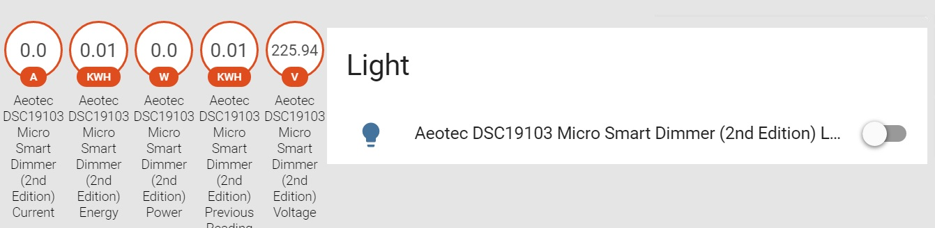 AEOTEC Smart Dimmer (2nd Edition) im HomeAssistant Review