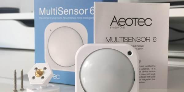 AEOTEC Multisensor 6 im HomeAssistant Test