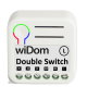 WiDom Double Switch Relay (Version L)