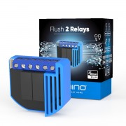 Qubino Flush 2 Relay - Unterputz-Relais (2*0,9 kW) mit Energiemess-Funktion