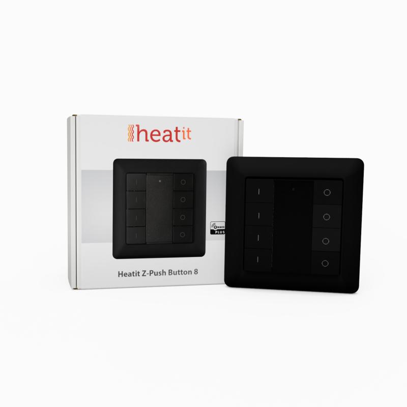 Heatit Z-Push8 schwarz