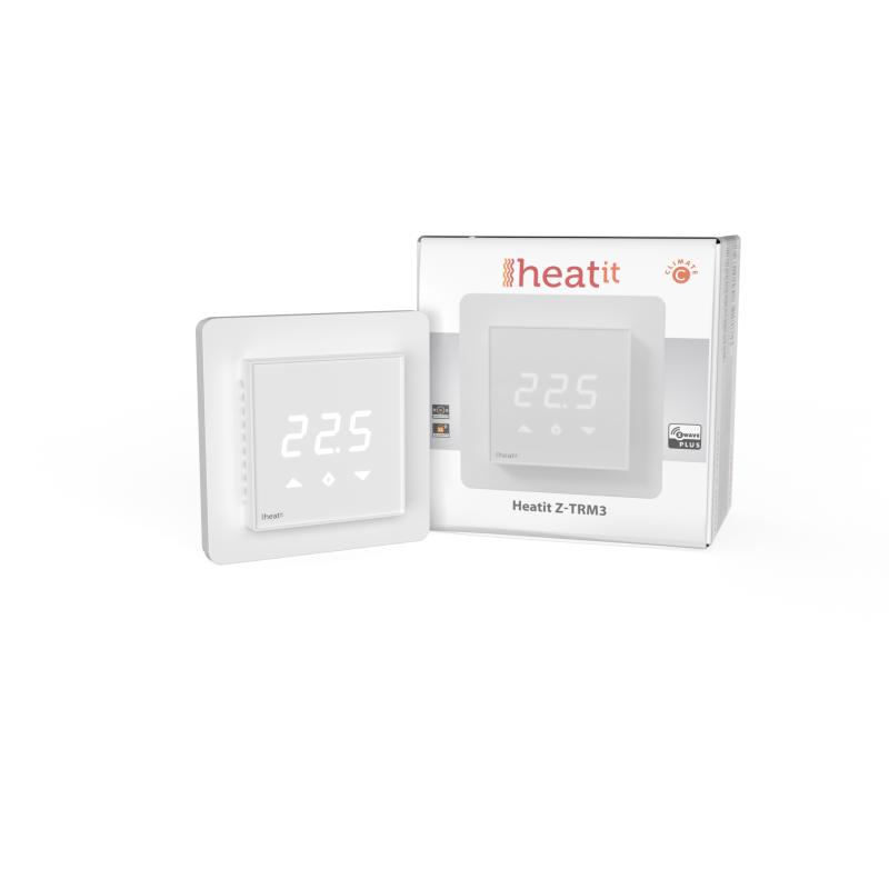 Heatit Z-TRM3 Thermostat 3600W 16A