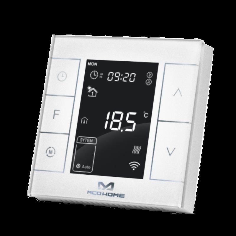 MCO Home - Thermostat für Wasserheizungen (mit Feuchtigkeitssensor) Version 2